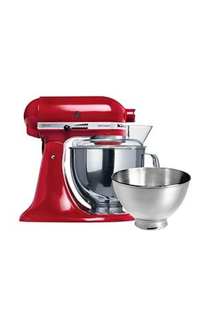 KitchenAid Artisan KSM160 Two-Bowl Stand Mixer