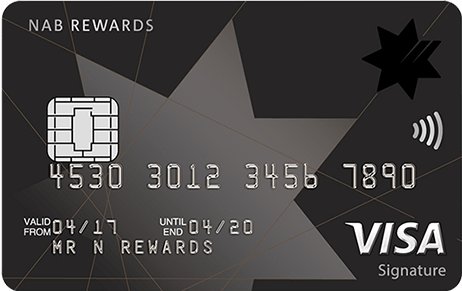 NAB Rewards Signature Card