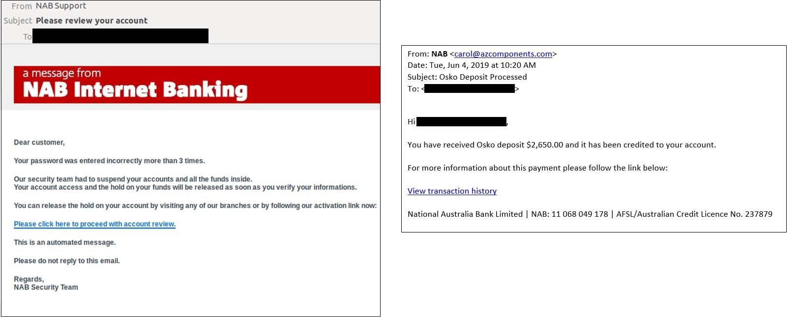 Fraud warnings for all NAB customers - NAB