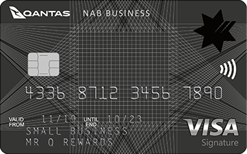 Business credit cards compare our range of expense access cards nab qantas business signature card reheart Gallery