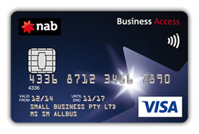 Business credit cards pany cards NAB