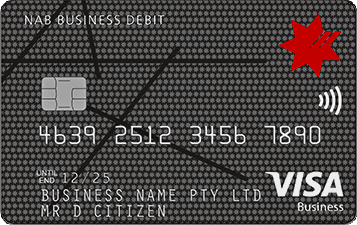 Business credit cards compare our range of expense access cards nab business visa debit card reheart Gallery