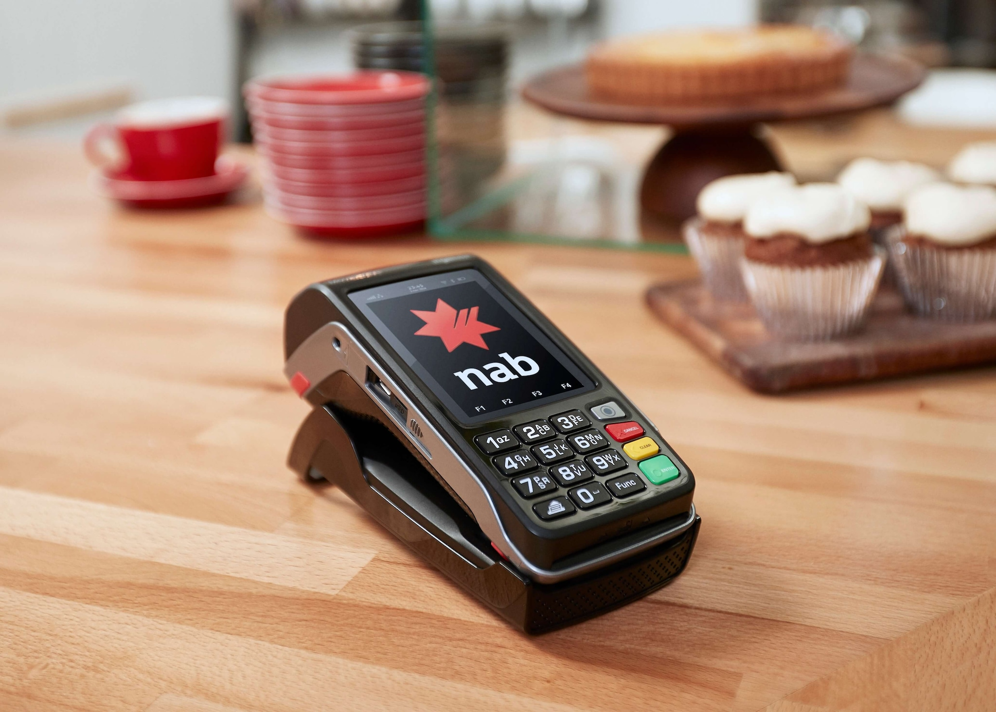 EFTPOS terminals - at the register or on the move - NAB