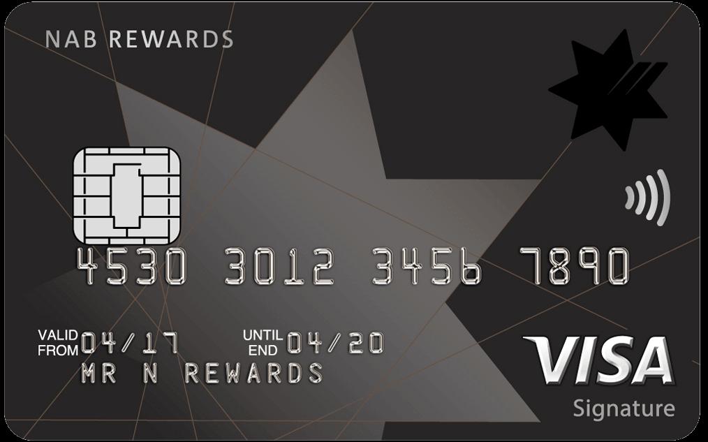 Credit card rewards program earn use reward points nab nab rewards signature card reheart Choice Image