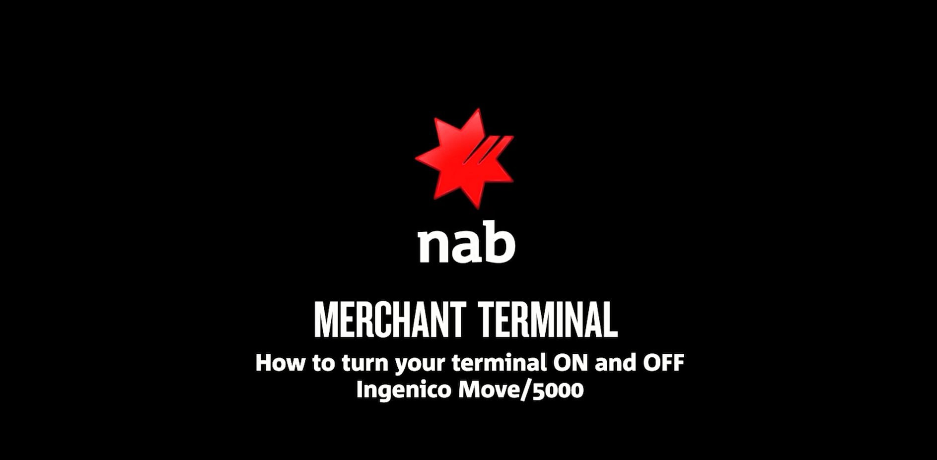 Ingenico troubleshooting guide - NAB