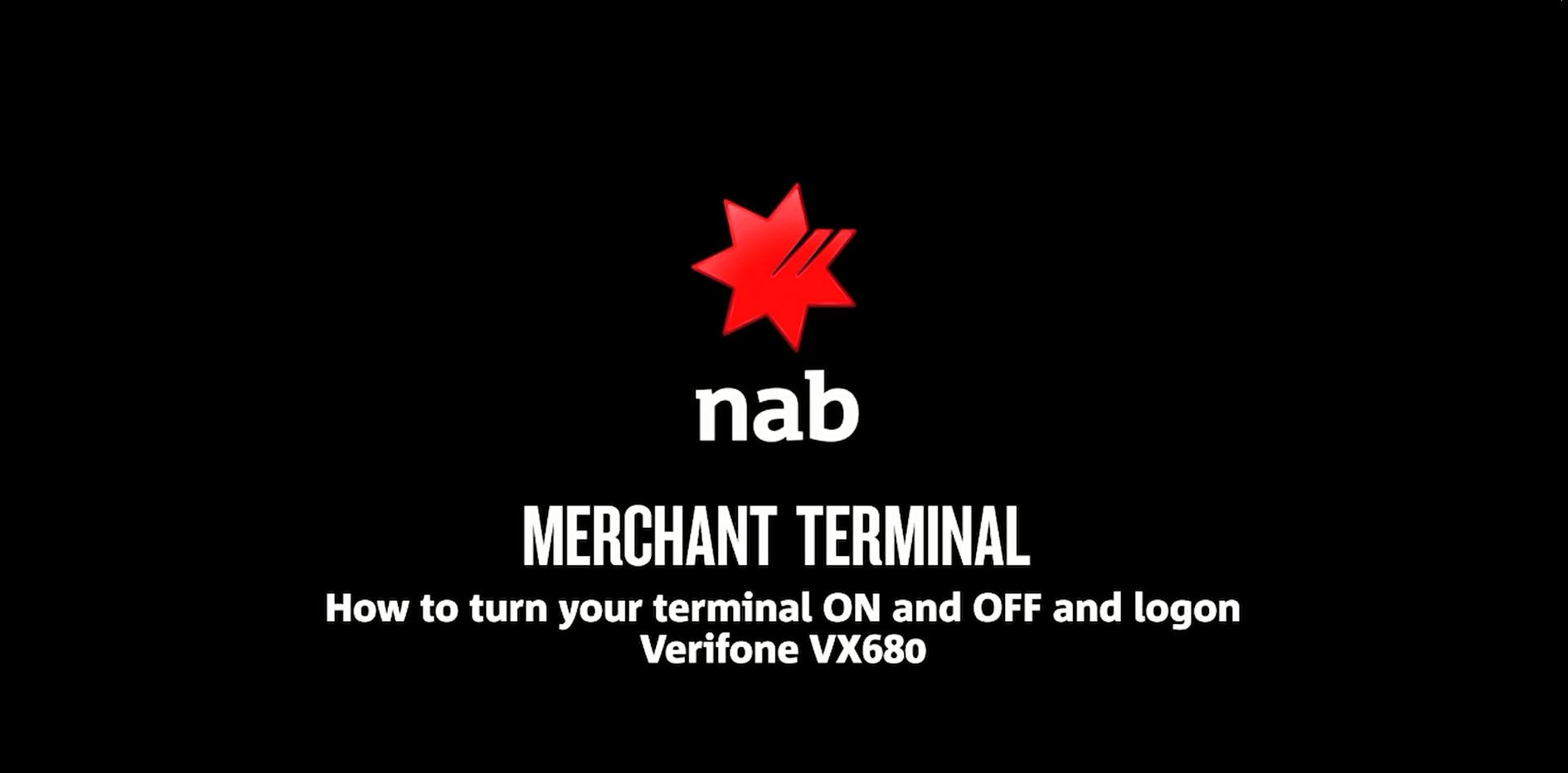 Verifone Terminal Troubleshooting Guide - NAB